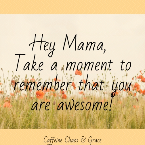 You Got This Mama! We all have struggles, take a moment to remember that you are still awesome!